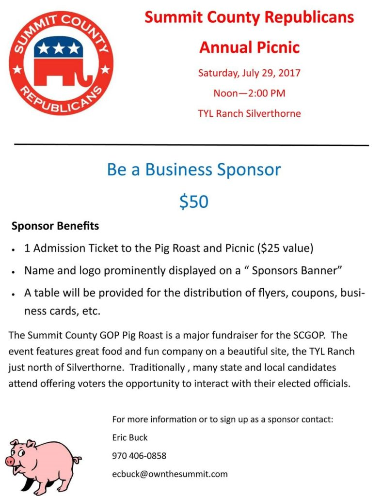 SCR Picnic Business Sponsors